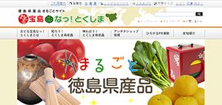Tokushima Blue ホームページ